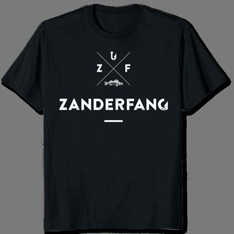 Angel T-Shirt schwarz Zanderfang
