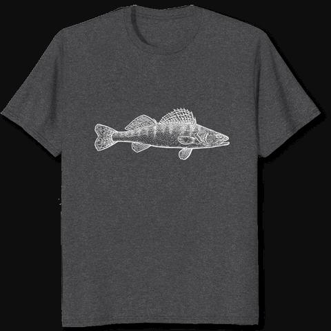 Tshirt Zander Fisch
