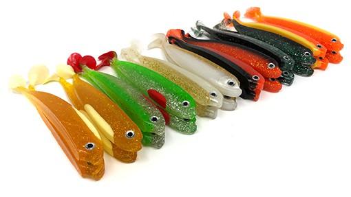 Gummifische für Zander