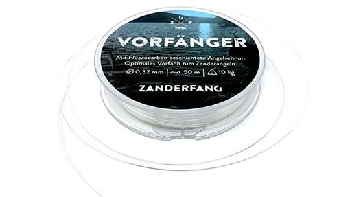 Fluorocarbon beschichtetes Vorfach zum Zanderangeln