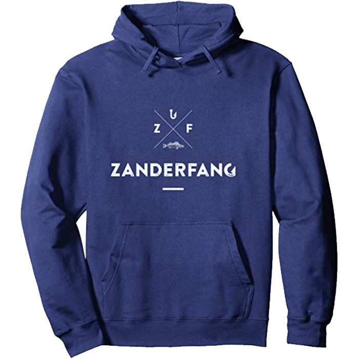 Zanderfang Pullover marineblau