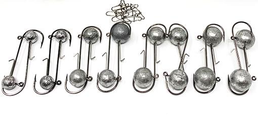 Jigköpfe (rund) zum Zanderangeln